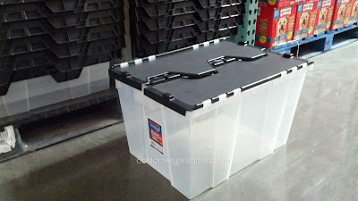Incredible Solutions 12 Gallon Fliptop Crate provides storage for your household things