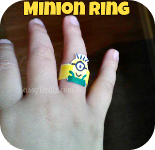diy minion ring for kids