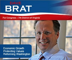 VOTE DAVE BRAT FOR CONGRESS - NOV 4