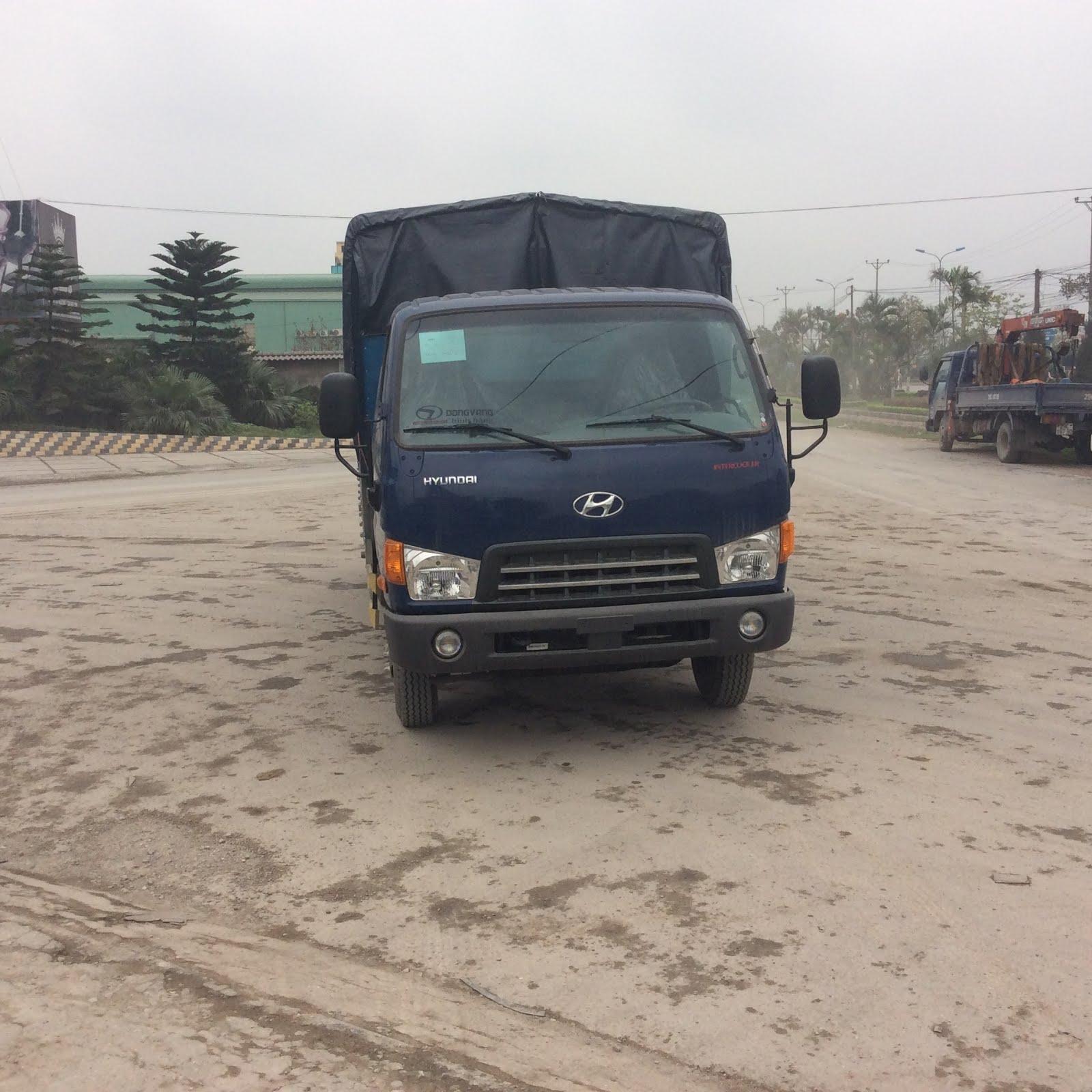 Thùng xe hyundai hd700 thùng bạt