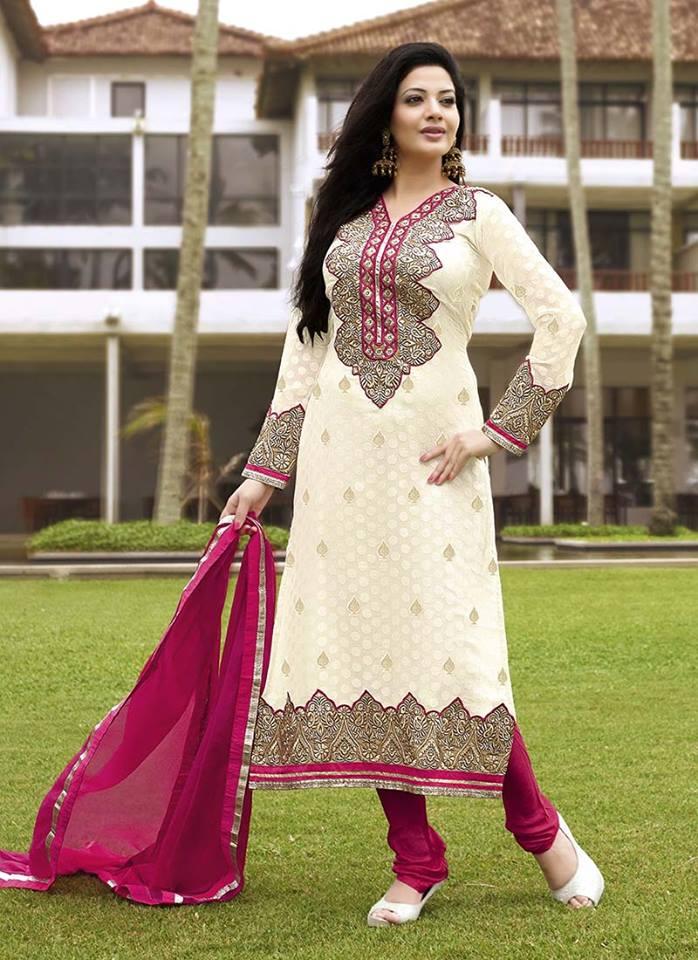 Excellent Latest Pakistani Fashion Trend Of Medium Shirts With Cigarette Pants