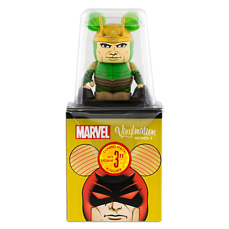 NEW Disney Vinylmation Marvel Series 3 LOKI Topper Figure ONLY
