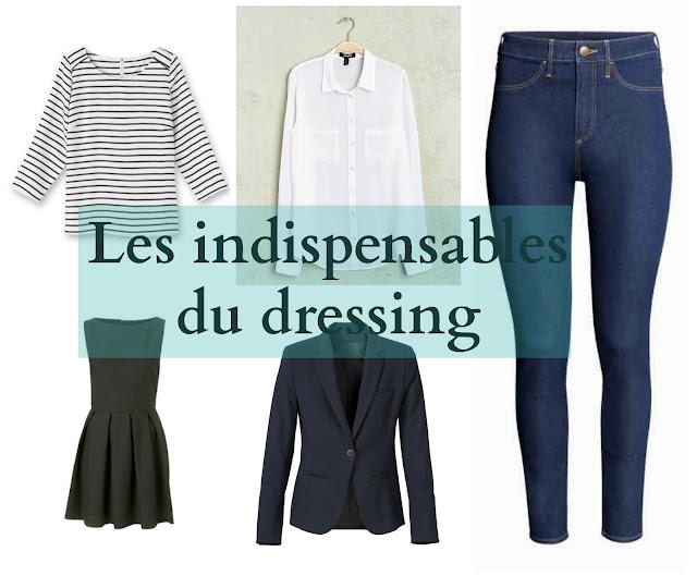 les indispensables du dressing