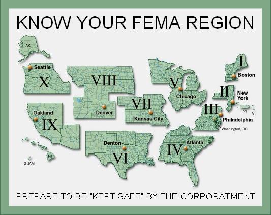 The Unknown History Of MISANDRY Know Your FEMA Region - Fema region map