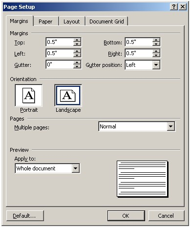 brochure in microsoft word