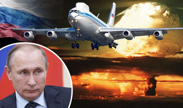Russia Prepares For NUCLEAR WAR with Launch of 'Invincible' Doomsday Plane