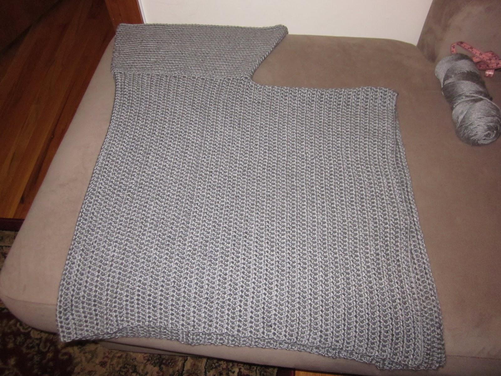 The Crafty Novice Diy Crochet Poncho