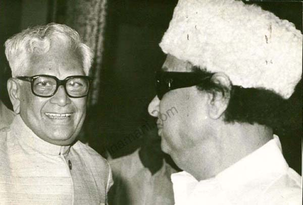 M.G. Ramachandran with R. Venkatraman 2