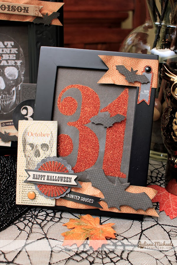 Halloween Altered Frames by Juliana Michaels