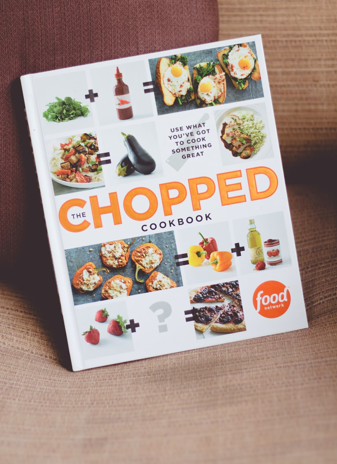 Lit lovin the chopped cookbook my perfect storm the chopped cookbook use what youve got to cook something great author food network kitchens forumfinder Image collections