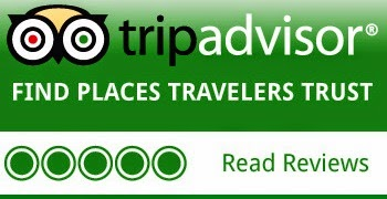 READ OUR GUESTS REVIEWS ON THE TRIPADVISOR WEBSITE