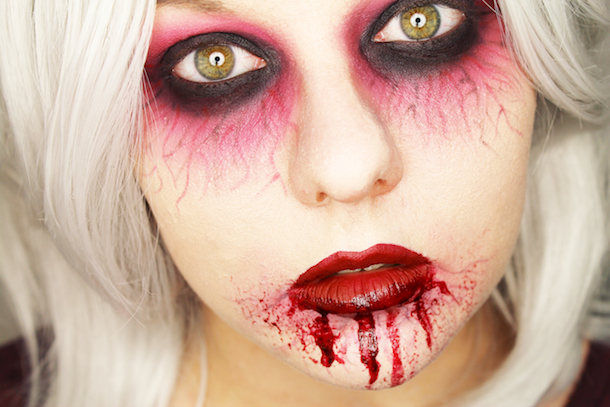 infected halloween makeup tutorial modern snowwhite beauty lifestyle travel more. Black Bedroom Furniture Sets. Home Design Ideas