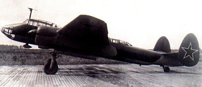 Прототип учебного бомбардировщика УТБ 2