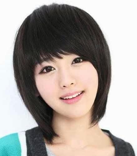Graphics For Pendek Sebahu Graphics Wwwgraphicsbuzzcom - Gaya rambut pendek sebahu ala korea