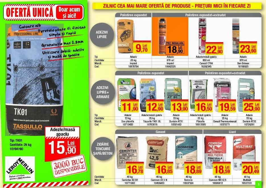 Catalog oferte si promotii oferta leroy merlin bucuresti for Leroy merlin catalog