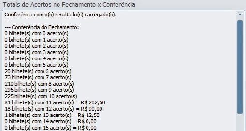 conferencia lotofacil 0925 Resultados de loterias: concurso 0925 da lotofácil