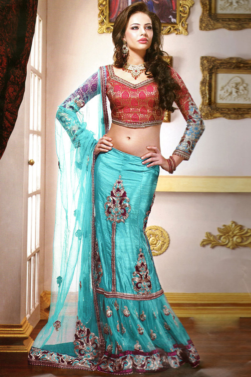 Ghagra Choli For Girls - Makeup and Beauty Collections