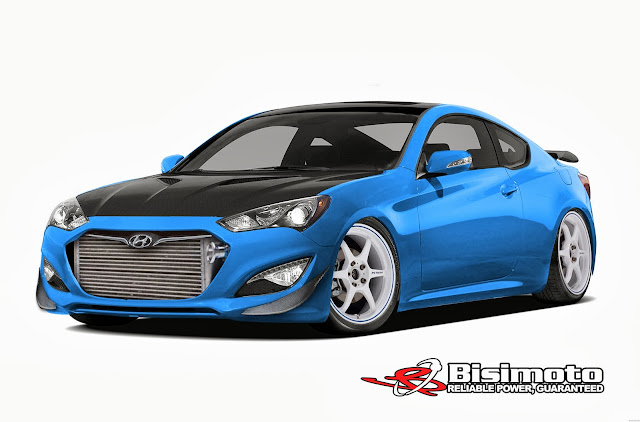 1000 HP Hyundai Genesis Coupe to Come to SEMA