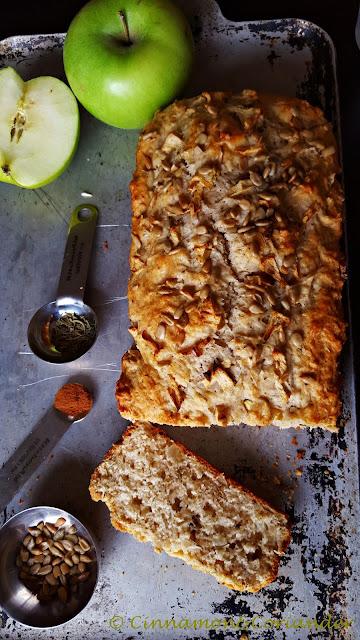 Spiced Apple Rosemary Bread