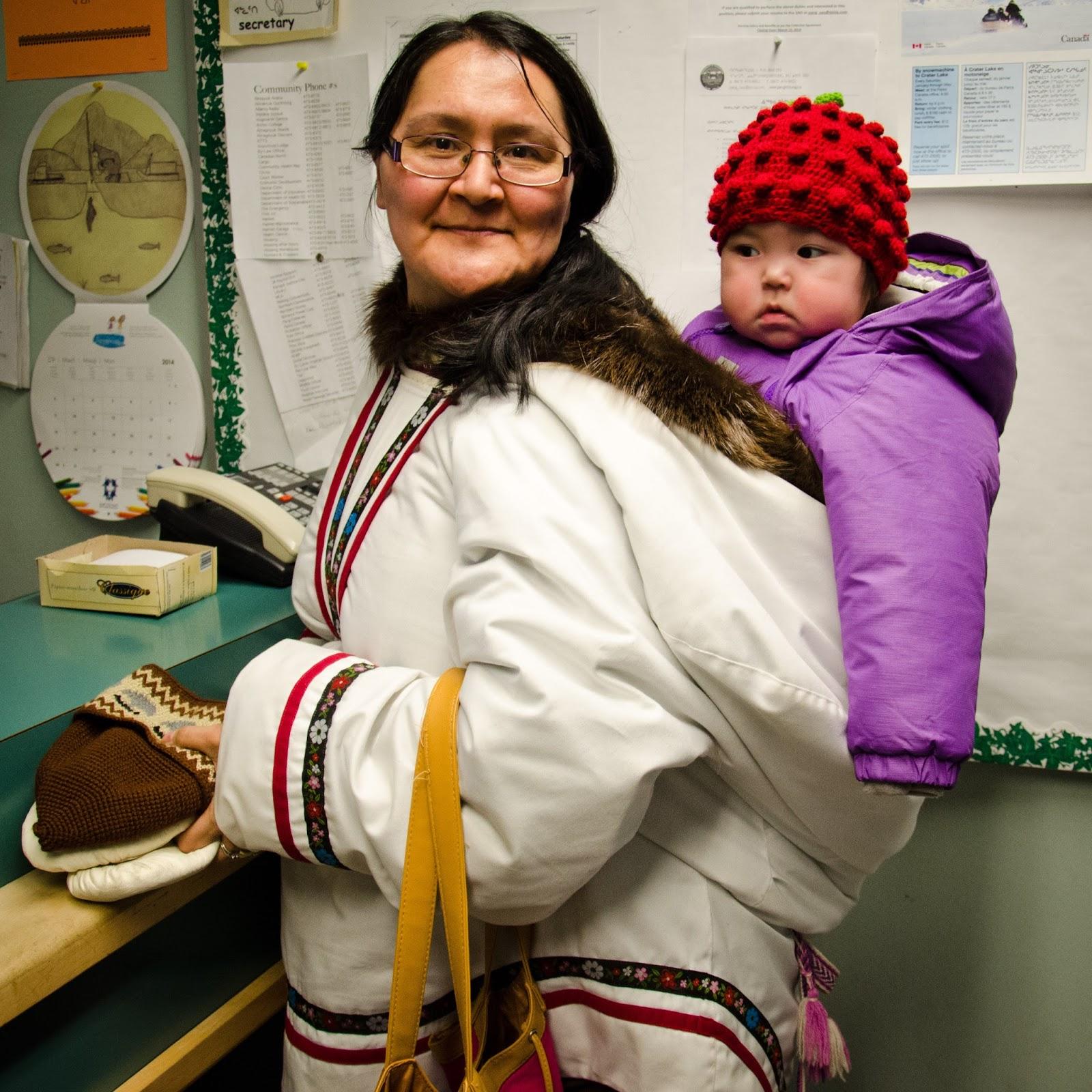 inuit clothing at attagoyuk jenny davison