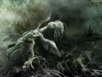 Dark Angel Doll Fly - Dark Gothic Wallpapers