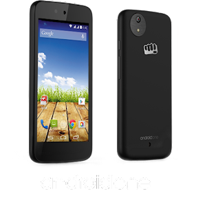 Askmebazaar : Buy Micromax Smartphone Black Canvas Android One 8Gb-Aq4502 at Rs.4,399 only – buytoearn