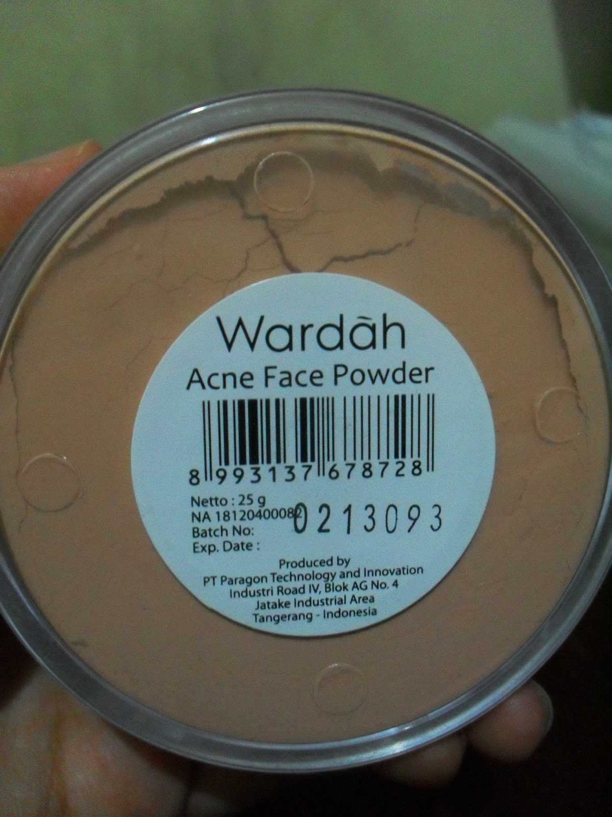 SOLD OUT Thank You Wardah Acne Face Powder For Your