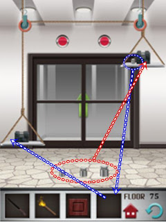 100 Floors Explanation Level 75