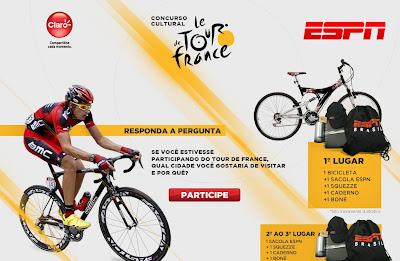 """CONCURSO CULTURAL """"ESPN –TOUR DE FRANCE"""""""