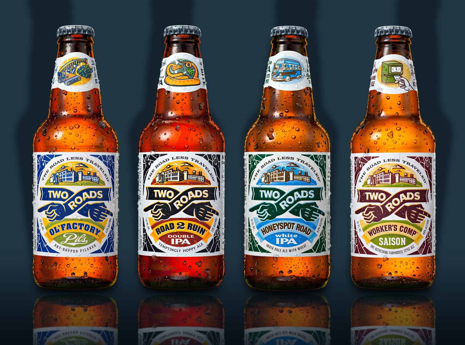 Craft beer and spirits brands on packaging of the world for Best craft beer brands