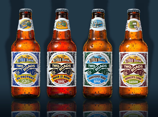 Craft beer and spirits brands on packaging of the world for How design com