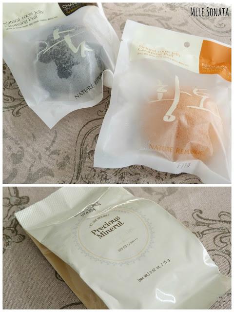 Precious Mineral Moist Any Cushion Etude House + Jelly Nature Republic