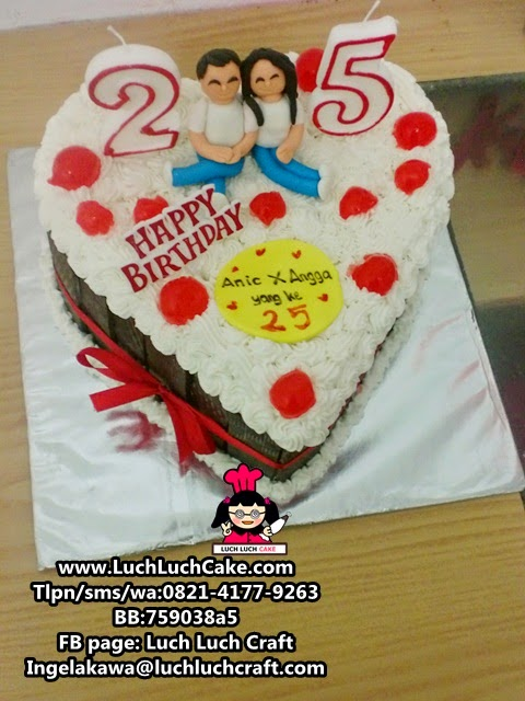 Kue Tart Romantis Blackforest Untuk Pasangan