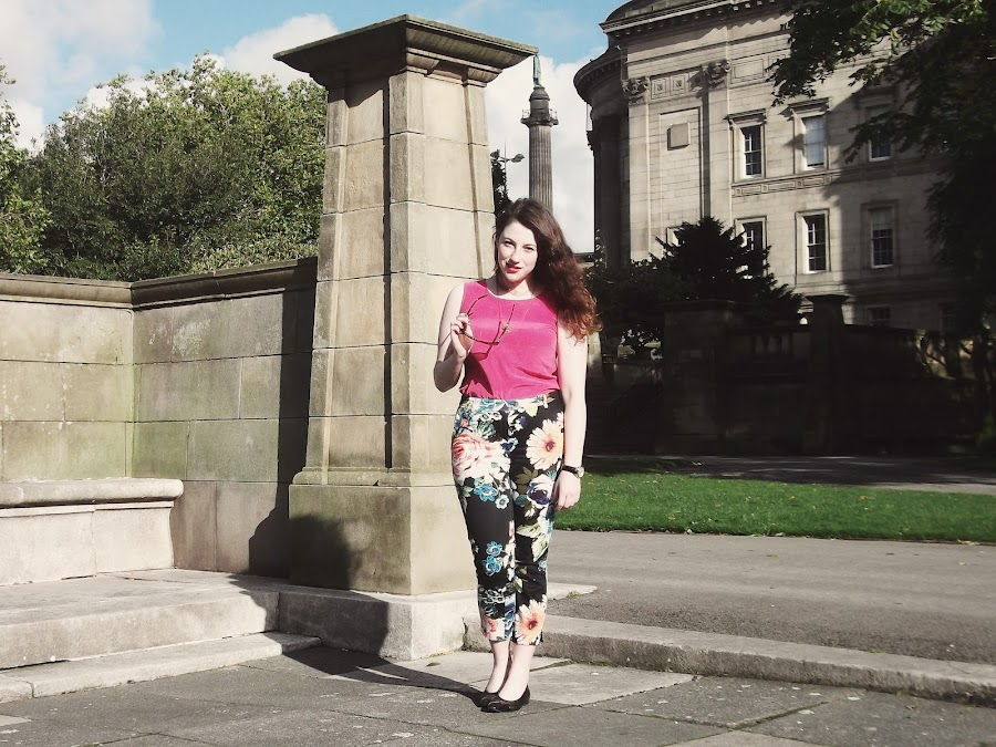 it's cohen - UK Style and Fashion Blog: what i wore, AW12, ootd, patterned trousers, winter sunglasses