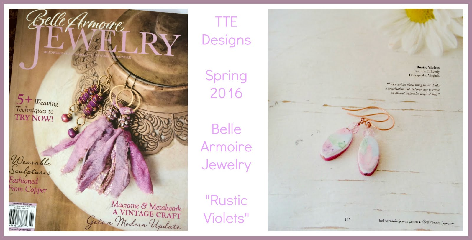 I'm Published in Belle Armoire Jewelry