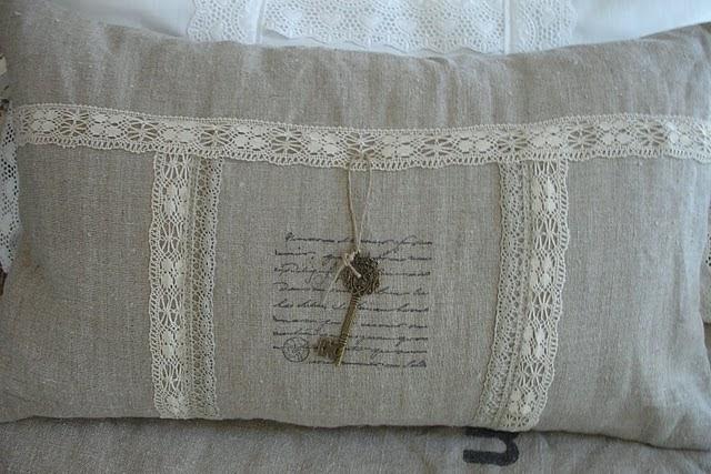 Cosas de palmichula decorar con tela de saco arpillera - Saco arpillera ...
