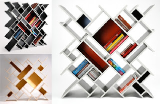 dedalo bookcase 30 of the Most Creative Bookshelves Designs