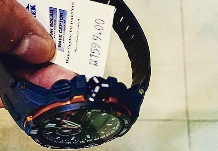 Jam Tangan Ben Ashaari Bernilai RM1,599