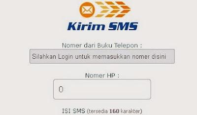 Cara Jitu Mengirim SMS Gratis Via Internet Update Terbaru