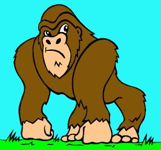 Chistes, Gorila Enamorado