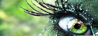 une image de couverture Facebook yeux