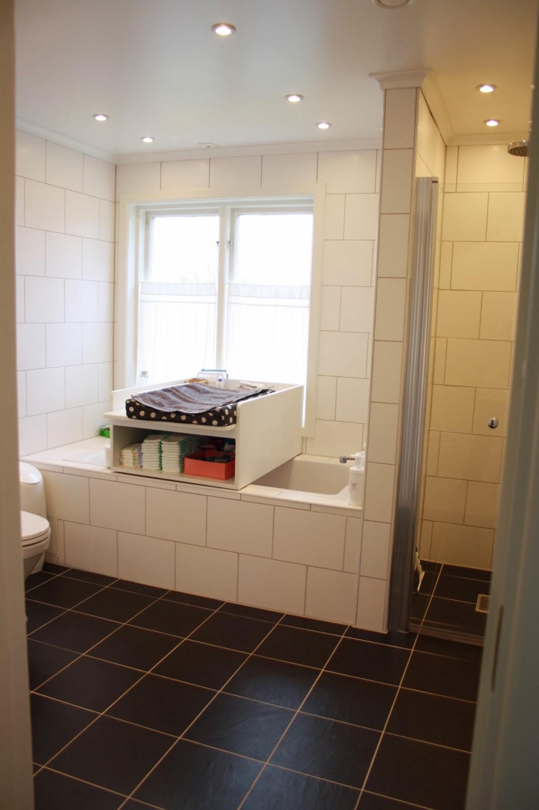 Dagdrömmar & verklighet: mintgrönt i badrummet