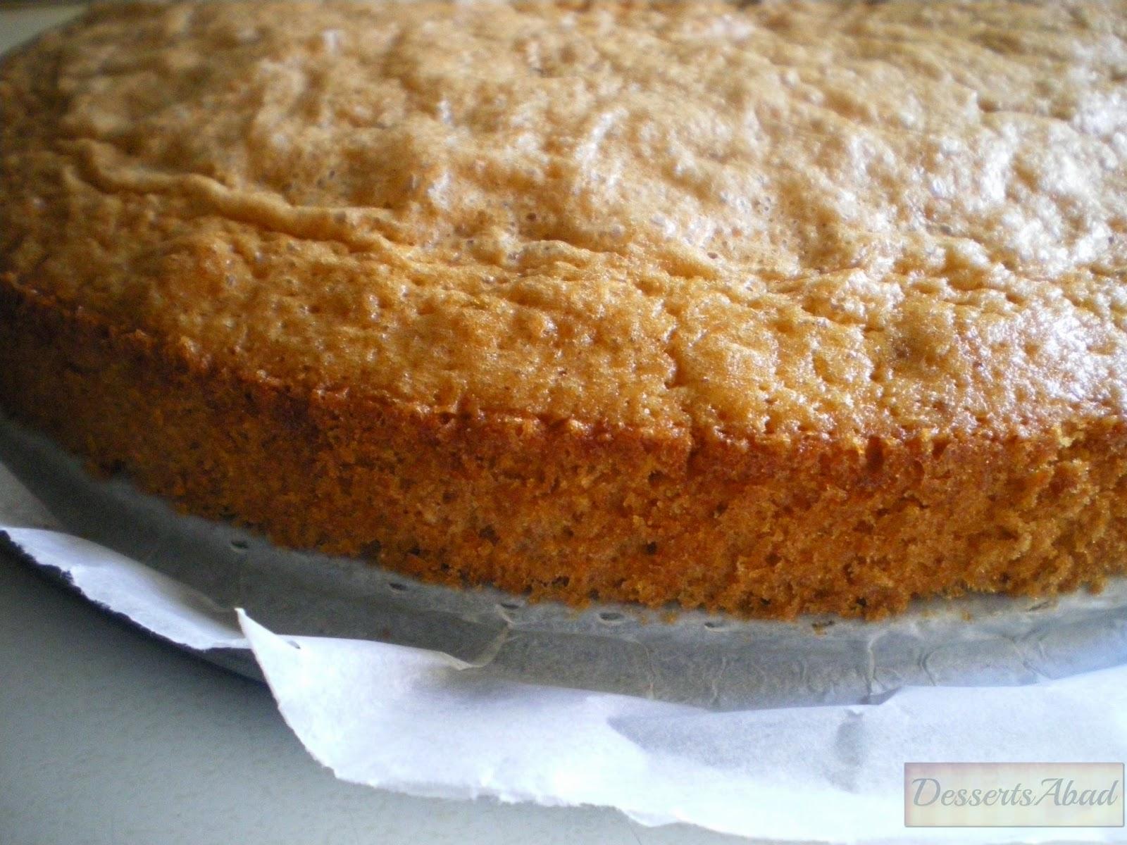 Torta compostelana con cidra (Horneado)