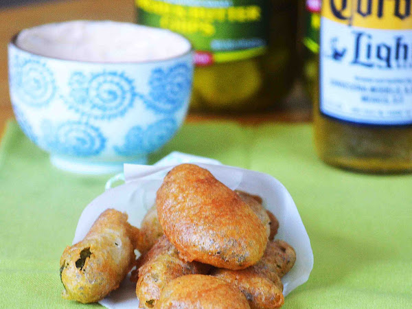 Hub's  Beer Battered Fried Pickles