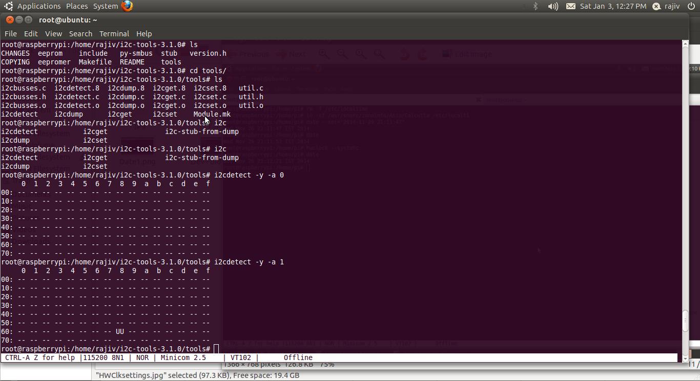 Random Stuff: Interfacing RaspberryPi with DS1307,I2C based Real