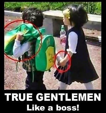 gentlemen, lelaki gentle, budiman, lelaki romantik