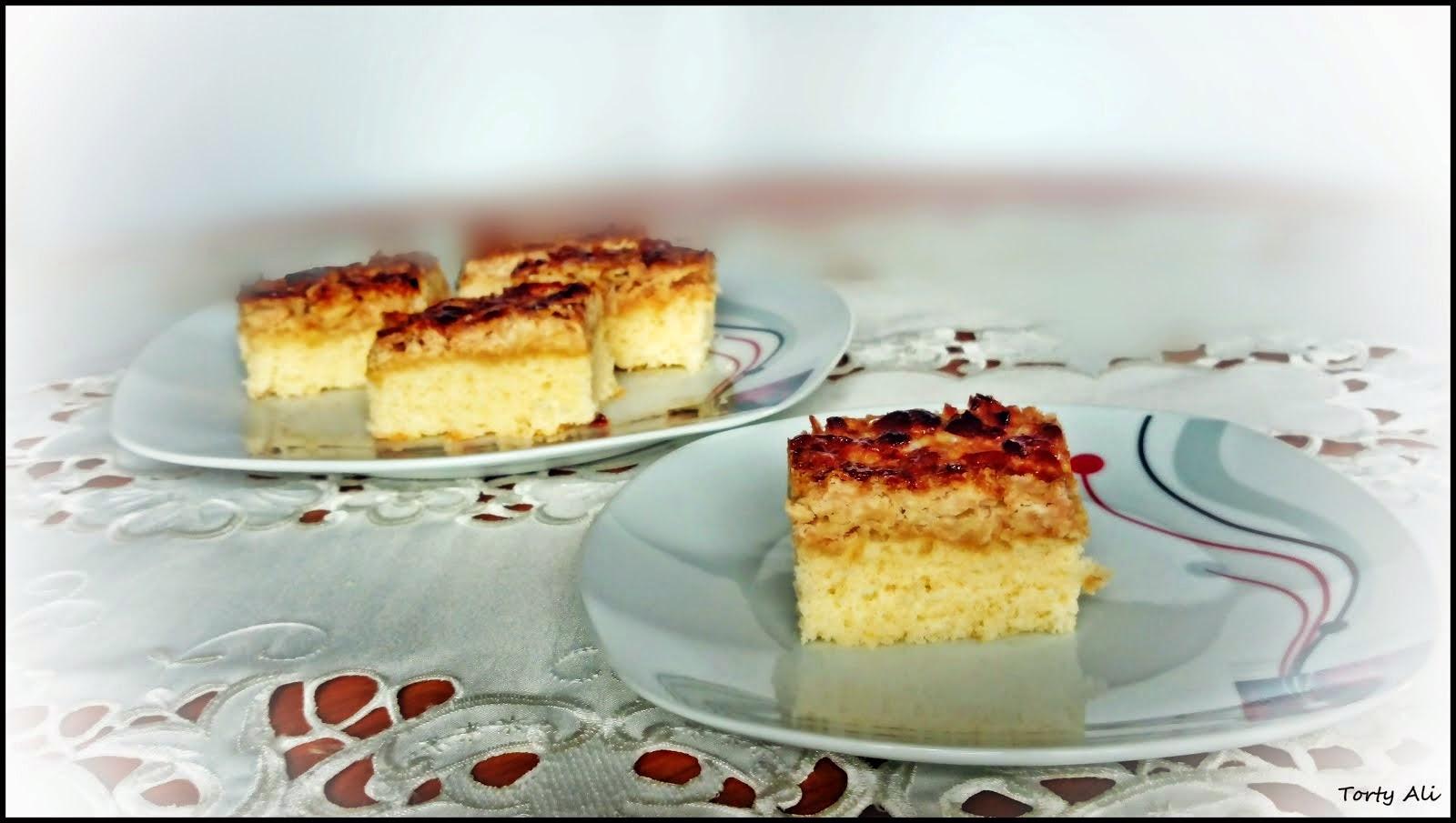 Toscakaka-ciasto z migdałami w karmelu