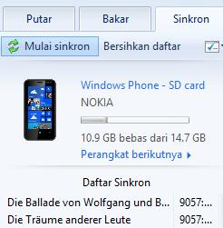 Cara mengatasi duplikat lagu di Windows Phone