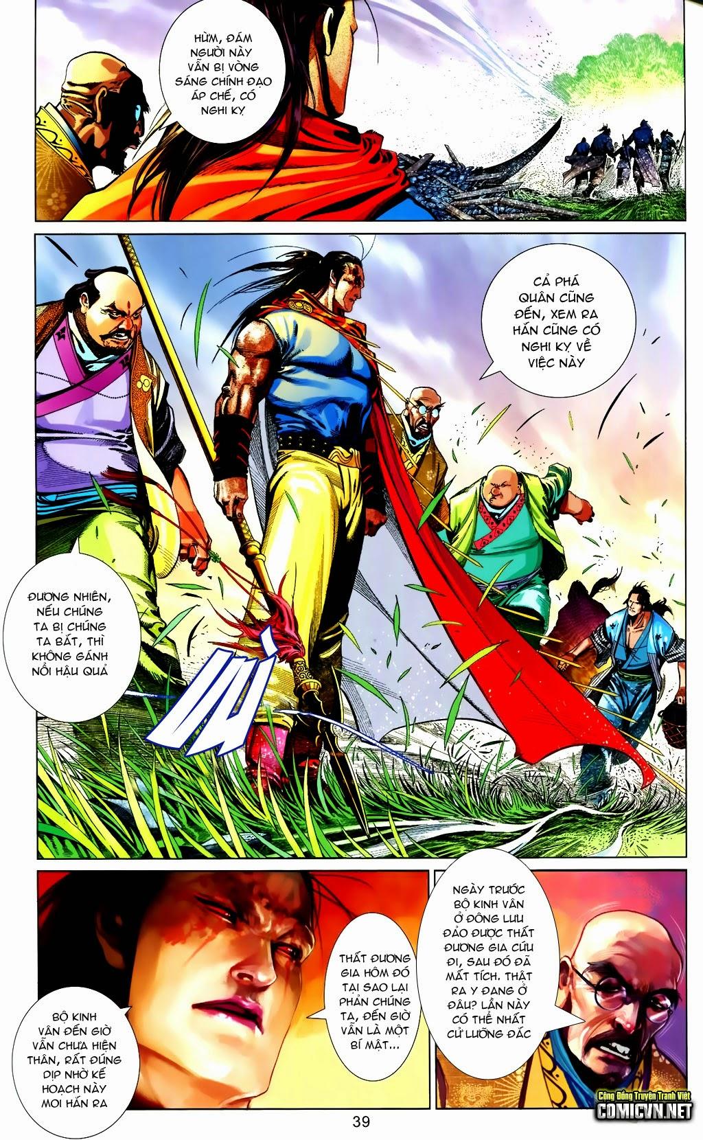 Phong Vân Chap 663 - Trang 39