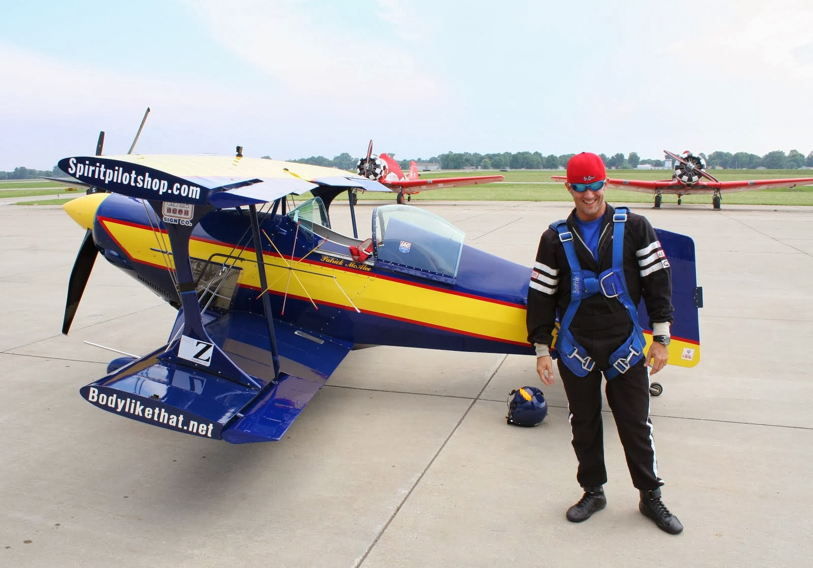 Airshow Performer Patrick McAlee ExtremeFlight Promo Video
